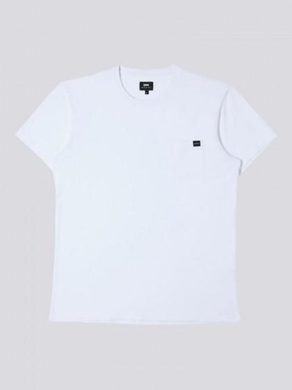 EDWIN Pocket T-Shirt [White]
