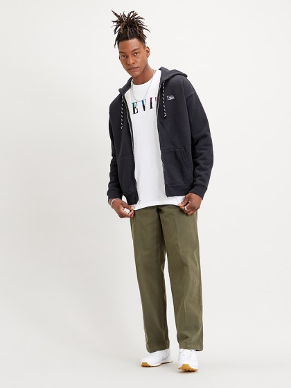 LEVI'S® Premium Heavy Weight Zip - Black Bird Heather