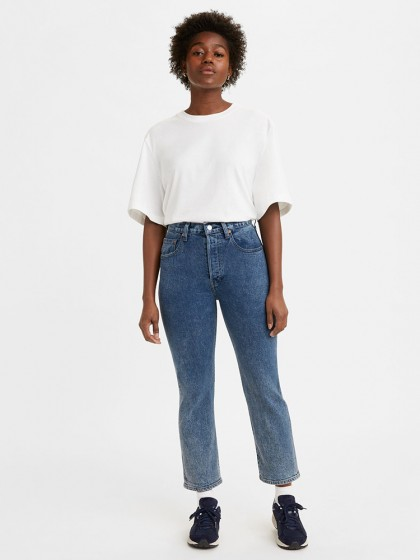 LEVI'S® MADE &CRAFTED® 501® Original Crop Jeans - Cliffside