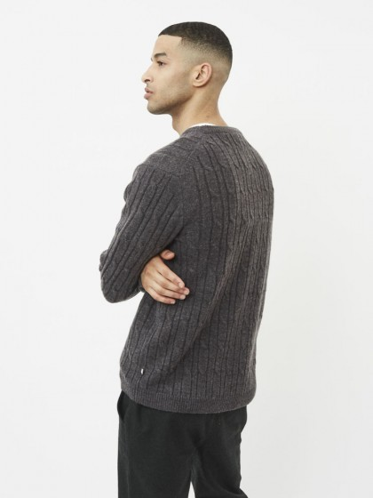 MINIMUM Sunesen Knit [Dark Grey Melange]