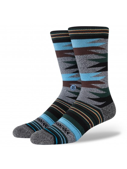 STANCE Wollaston Infiknit Classic Crew Socks [Black]